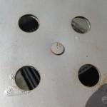 original weber, interior side of vent