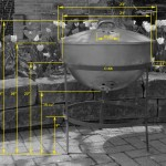 measurements and dimensions of the original weber kettle and frame