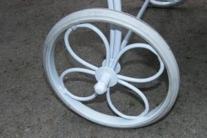 1967 Weber Seville wheel and tire
