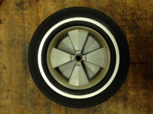 Front Ranger wheel after rehab