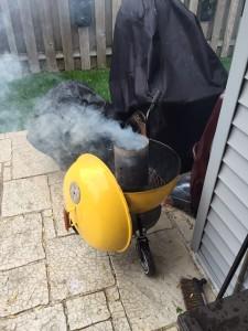 First fire for the newly restored Weber Ranger