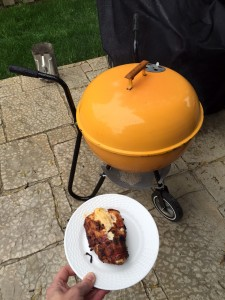 Weber Ranger changing color from the heat