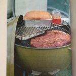 '72 Weber cookbook showing suggested use