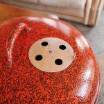 Orange and Black Speckled Custom vent 5
